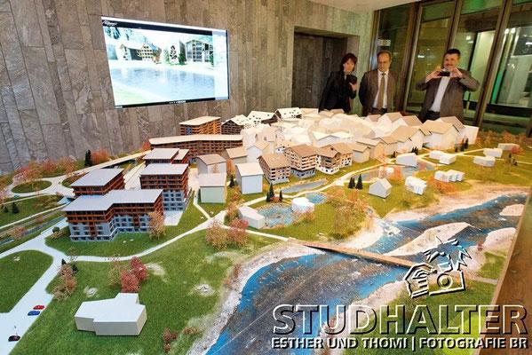 Eröffnung Showroom Zürich Andermatt Swiss Alps mit viel Prominenz im Restaurant HILTL in Zürich. 22.April 2010