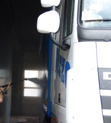 Rizzo Trans Waschanlage für LKWs