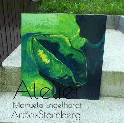 Wendebild - Acryl auf Spanplatte. Atelier Manuela Engelhardt