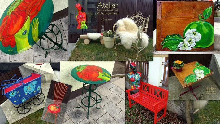 Upcycling Outdoor - Atelier Manuela Engelhardt, Starnbert