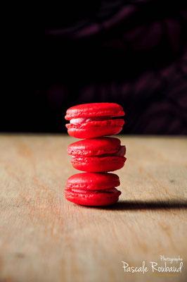 Photo culinaire macarons