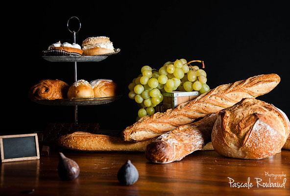 Photo clair obscur boulangerie