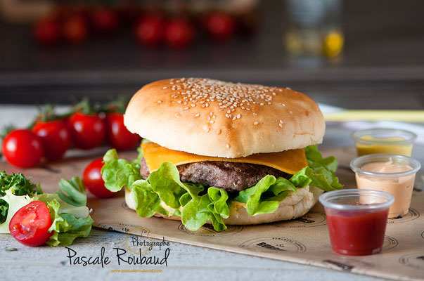shooting culinaire pour so burger antibes