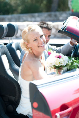 Photo mariage Antibes Juan les pins phare de la garoupe