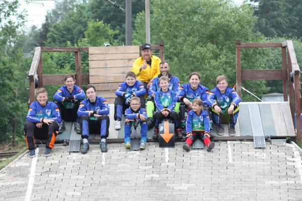 Zehn Phönix-Racer machten sich auf den Weg nach Rödinghausen, um am ersten Lauf des OWL Cups teilzunehmen