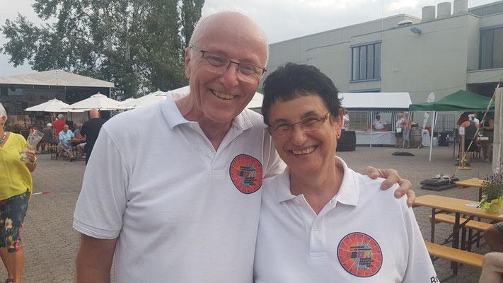 Foto von Bernd Schmidt: Cheforganisator Franz Hieber und seine Frau Reingard