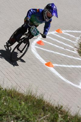 Mit sieben Jahren der jüngste BMX-Fahrer der Phönix-Racer: Paul Prüsch.