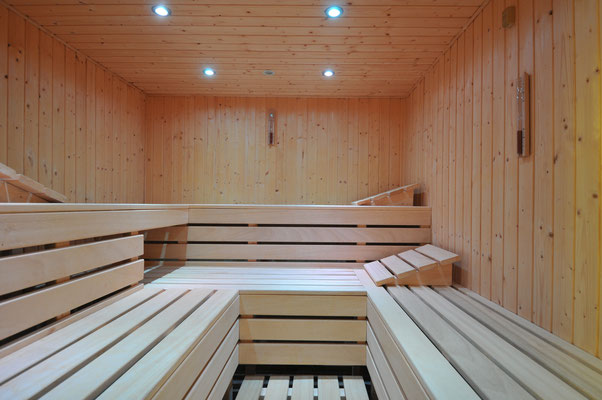 Die Sauna zum Entspannen