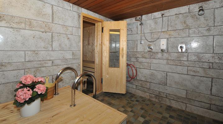 Der Saunavorraum