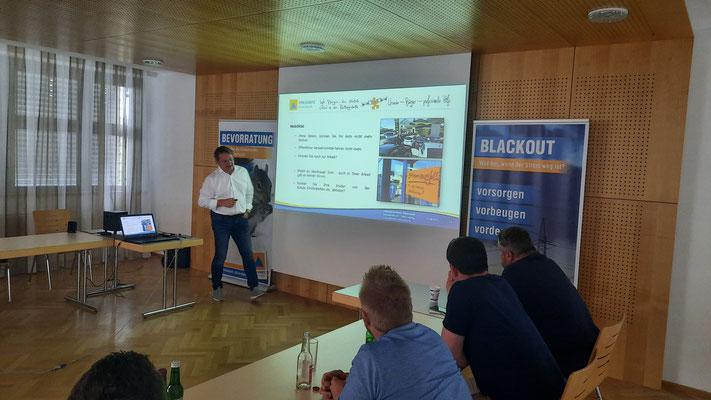 KLAR Graz-Umgebung Nord | Blackout-Workshop mit Zivilschutzverband Steiermark & 4ward Energy Research GmbH - 5
