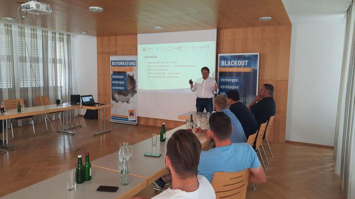 KLAR Graz-Umgebung Nord | Blackout-Workshop mit Zivilschutzverband Steiermark & 4ward Energy Research GmbH - 1