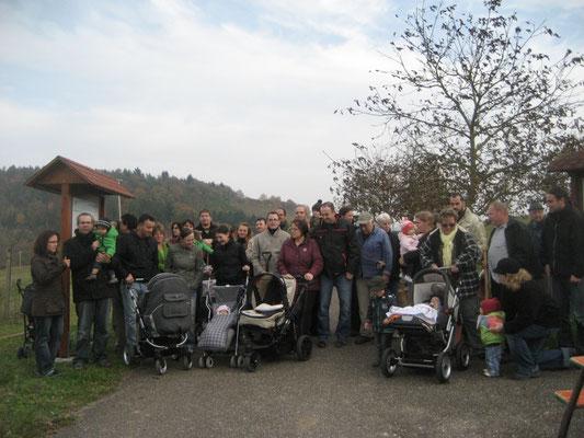 Gruppenbild Patenbaumaktion 2009