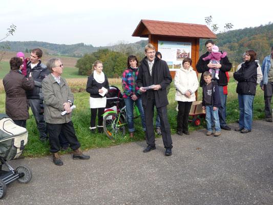 Patenbaumaktion 2010 mit BM Thomas Csaszar