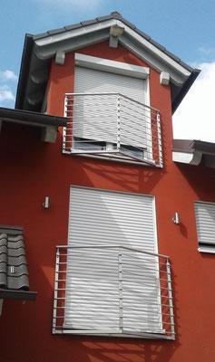 Französische Balkone aus Edelstahl