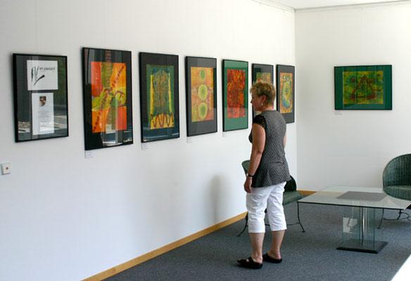 Ausstellungen Heike Schmidt Duderstedt Red Elephant Blue