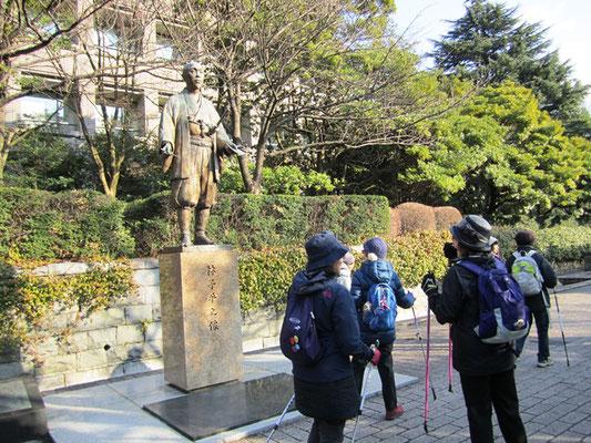 仙台にずっと住んでいるけれど林子平像をこんなにじっくり見たの初めて!!