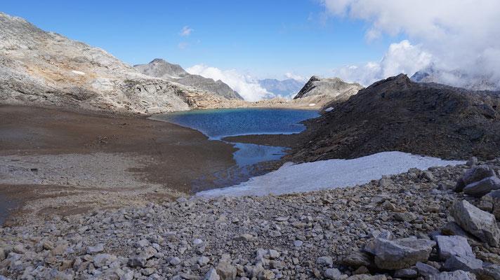 Bergsee am Col de Sommeiller