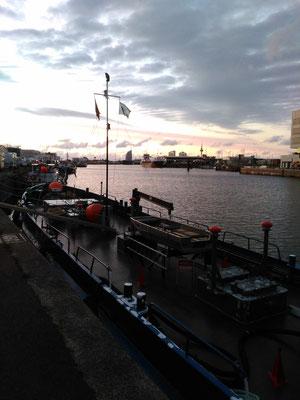 Abendstimmung in Bremerhaven