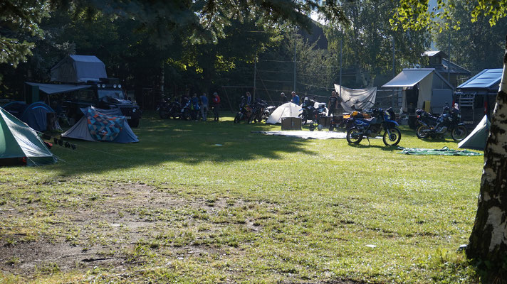 Camping Gran Bosco Enduros in Salbertrand