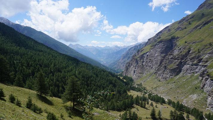 Aussicht am Col de Sommeiller
