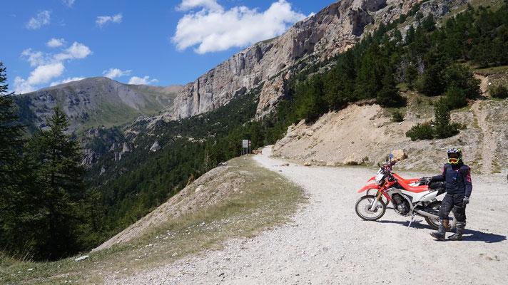 Verbote vor dem Monte Jafferau