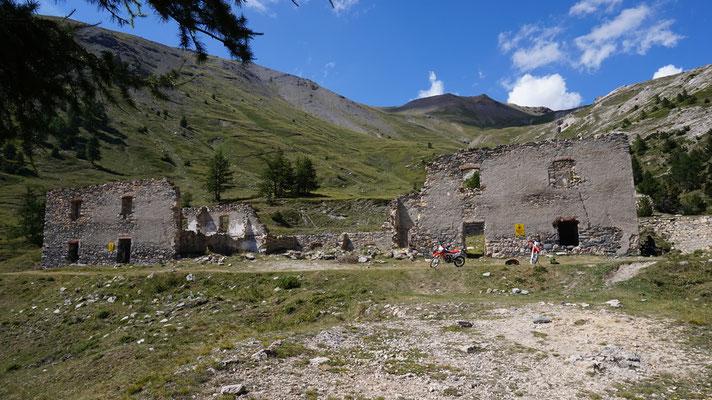 Monte Jafferau Ruinen