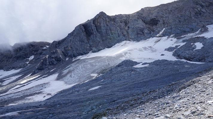 Gletscher am Col de Sommeiller