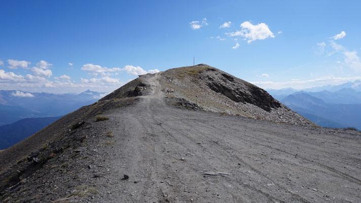 Gipfel des Monte Jafferau
