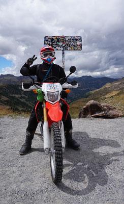 Rossi auf m Berg