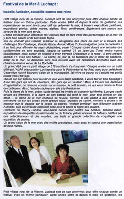 "Article ""Le journal de Civray"" édition n°324"