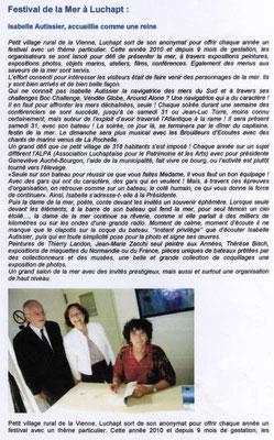 """Article """"Le journal de Civray"""" édition n°324"""