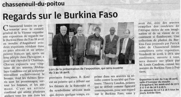 """Article """"Centre-Presse"""" du 03/04/2010"""