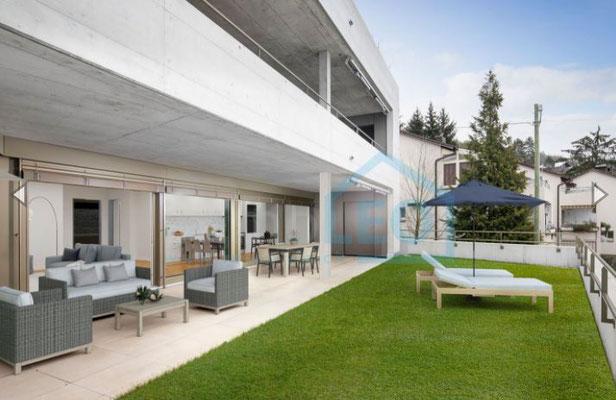 Moderne 4 ½-Zimmer-Gartenwohnung