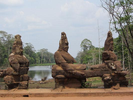 Porte sud Cité Angkor Thom