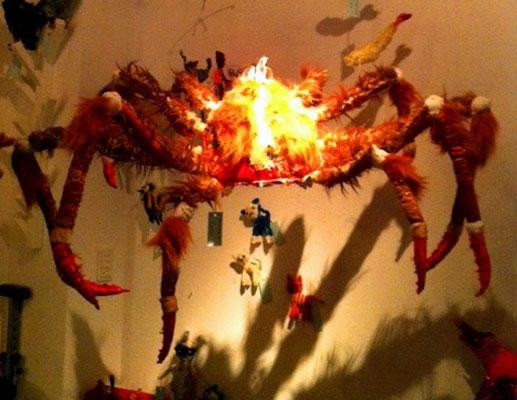 exhibition in Harajuku, Tokyo 2011