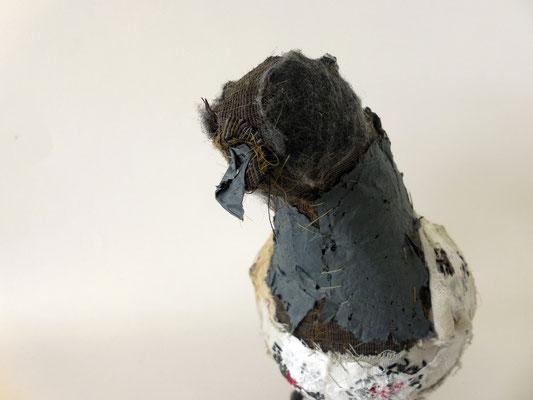 polystyrene pigeon detail
