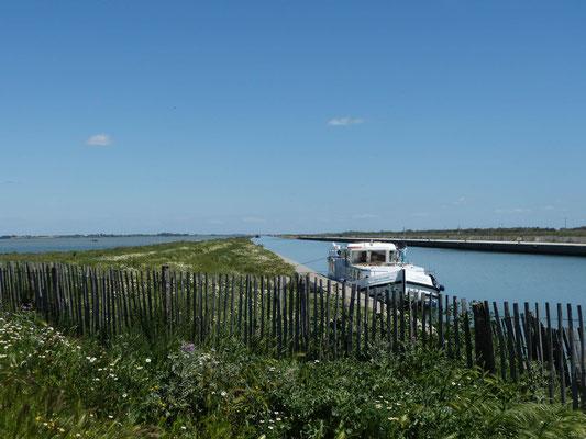 Canal de la Robine auch nach Frontignan Plage