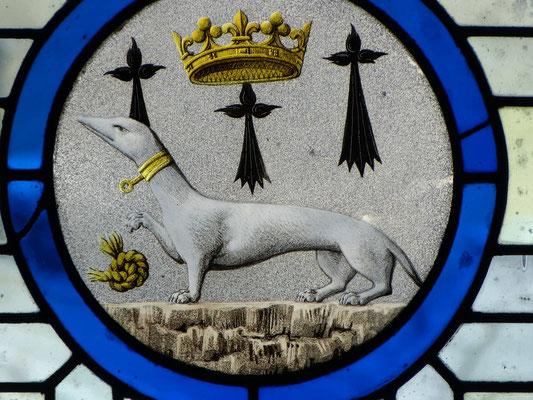 Emblem des Königs