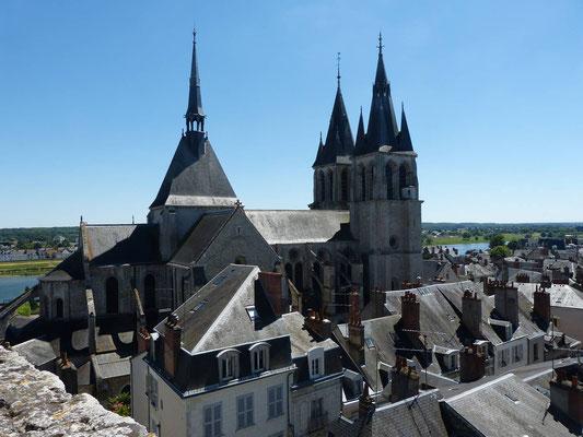 Blick über Blois
