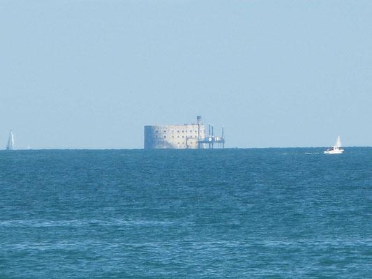 Fort Boyard in der Ferne