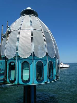 Tauchglocke an der Seebrücke