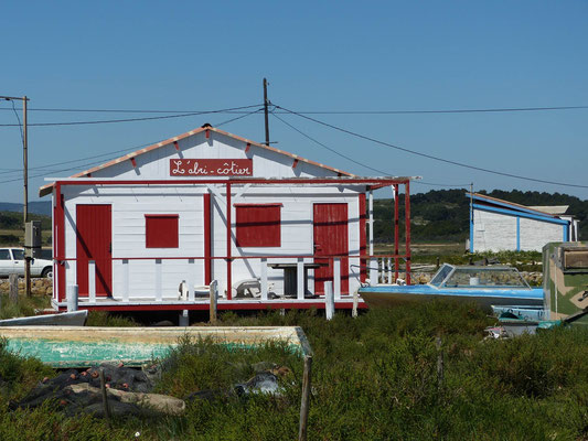 Fischerhütte bei le salin de l'ile Saint Martin
