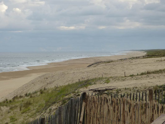 Ein Teil des Strandes