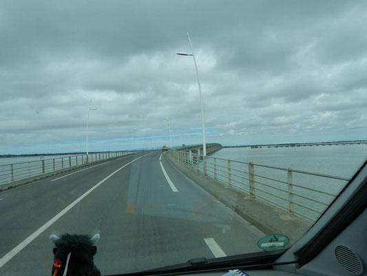 Île d´Oleron, wir sind auf dem Weg zu dir