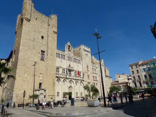 Hauptplatz in Narbonne