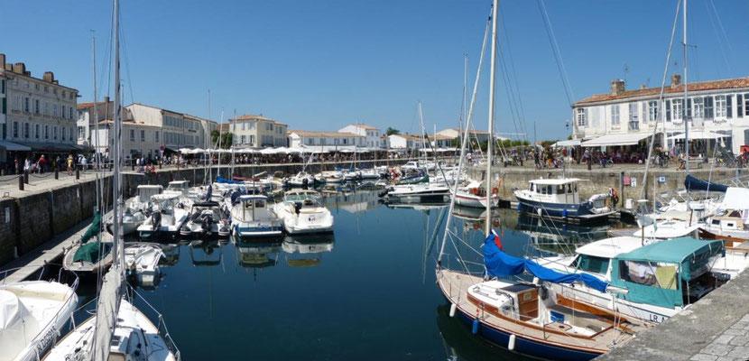 Hafen von St. Martin de Ré