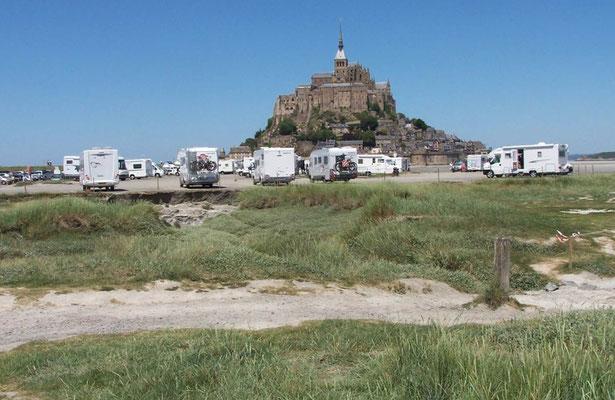 SP mit Blick auf den Mont Saint Michel