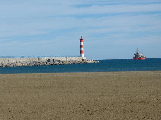 Hafenausfahrt von Port-la-Nouvelle