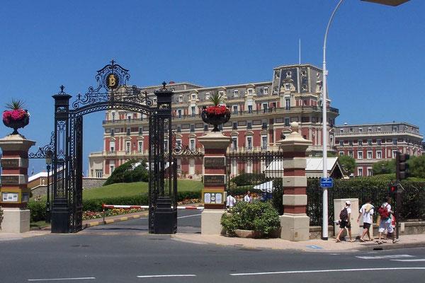 Hotel du Palais, vormals Residenz der Kaiserin Eugénie