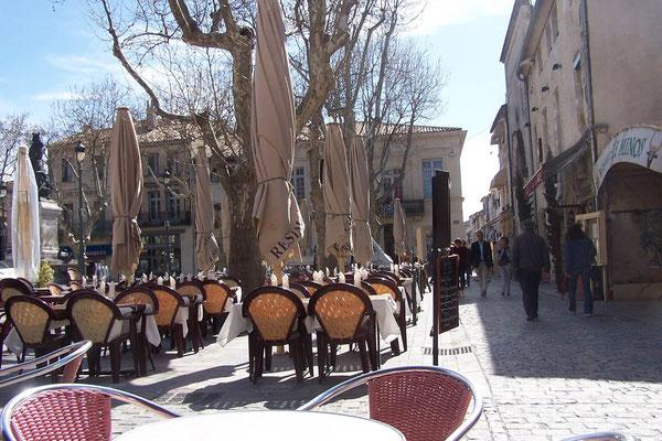 Platz in Aigues-Mortes